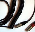 Cable liaison mixette-caméra spiralé